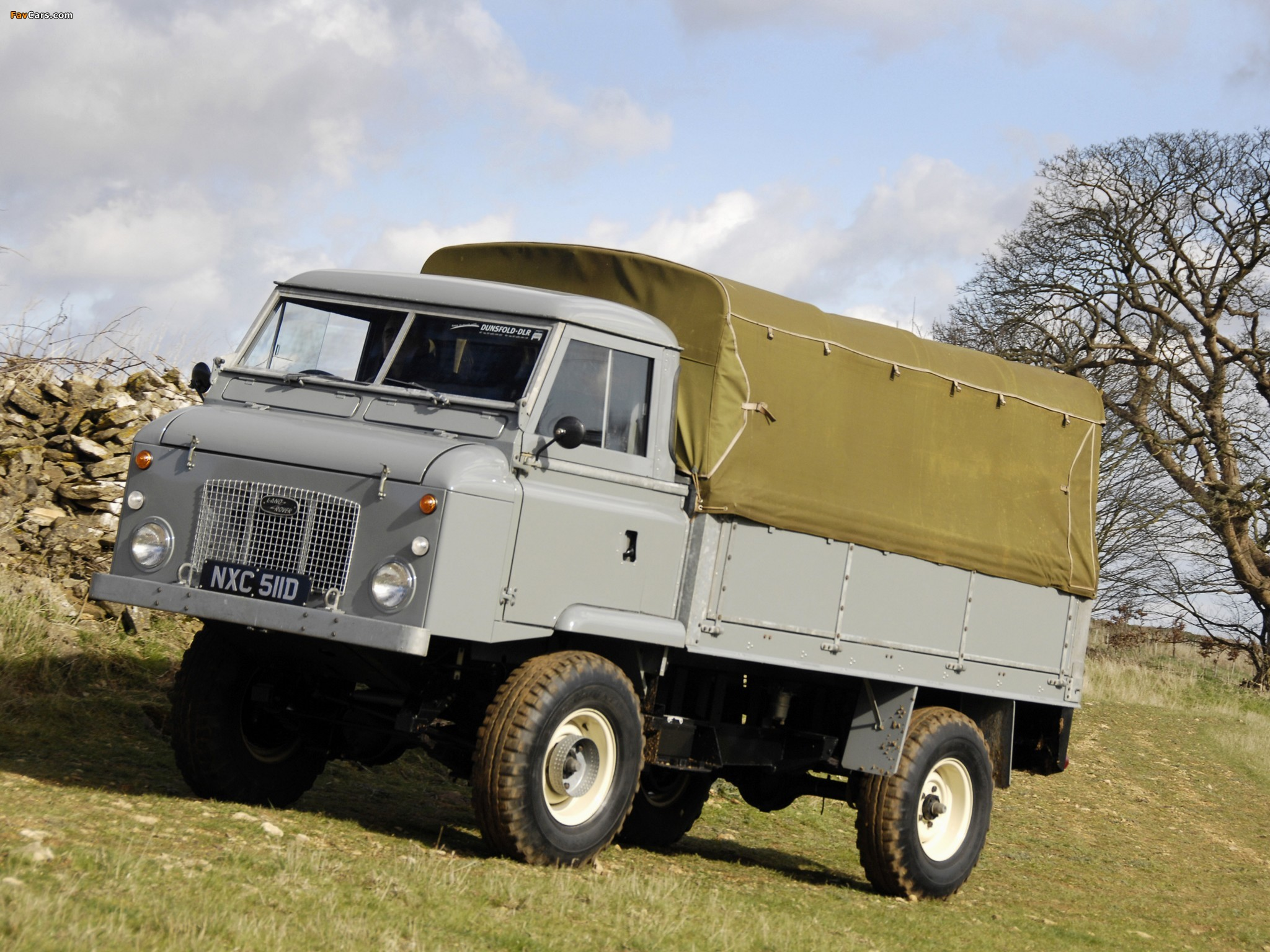 of Land Rover Series II Forward Control 1962–74