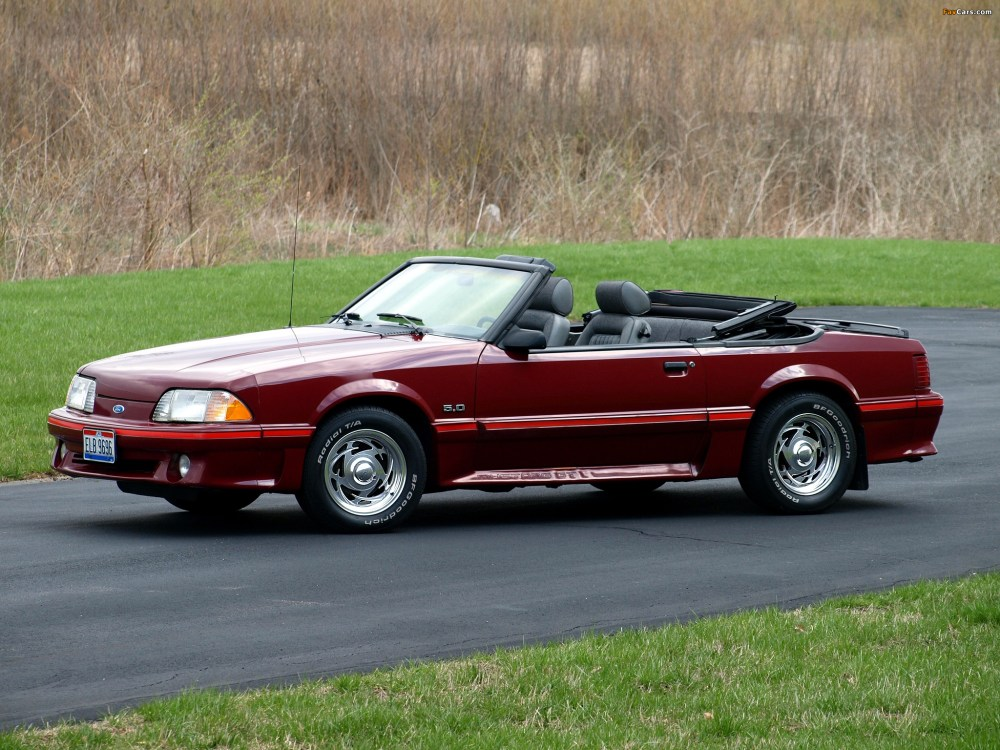 medium resolution of mustang gt 5 0 convertible 1987 93 wallpapers 2048 x 1536