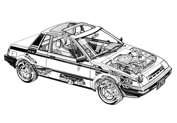 Images of Nissan Pulsar NX (N12) 1983–86