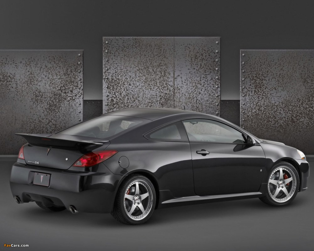 medium resolution of pontiac g6 gxp street edition coupe 2007 09 photos 1280 x 1024