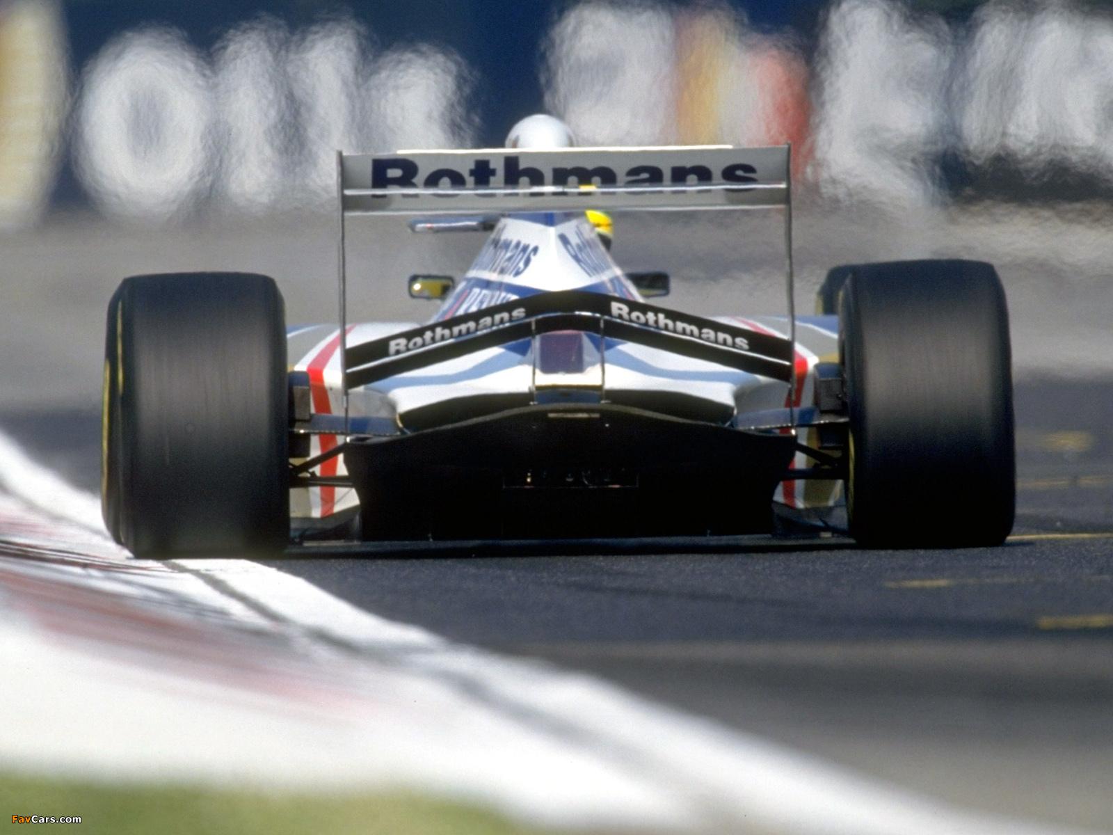 Ayrton Senna Rothmans Car Wallpaper Why The Increase In Rake F1technical Net