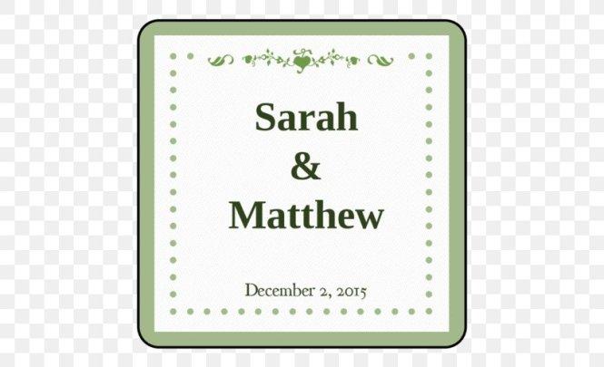 Wedding Invitation Label Envelope Seal