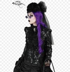 Victorian Era Gothic Fashion Goth Subculture Neo Victorian Gothic Art PNG 549x850px Victorian Era Costume Cybergoth