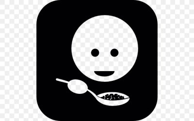 Eating Food Breakfast Vector Graphics PNG 512x512px Eating Black And White Breakfast Cutlery Dinner Download Free