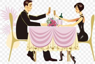 Dinner Restaurant Cartoon