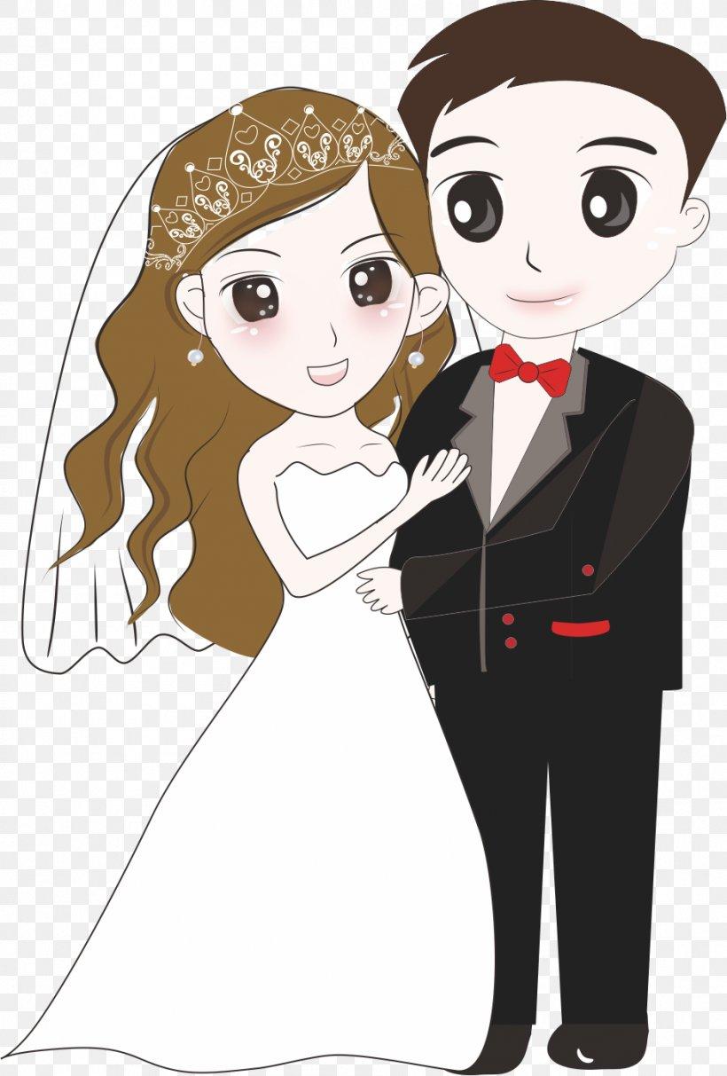 Wedding Cartoon Images : wedding, cartoon, images, Bridegroom, Wedding, Cartoon,, 939x1390px,, Watercolor,, Flower,, Frame,, Heart, Download