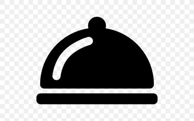 Dish Supper Restaurant PNG 512x512px Dish Black And White Logo Meal Menu Bar Download Free