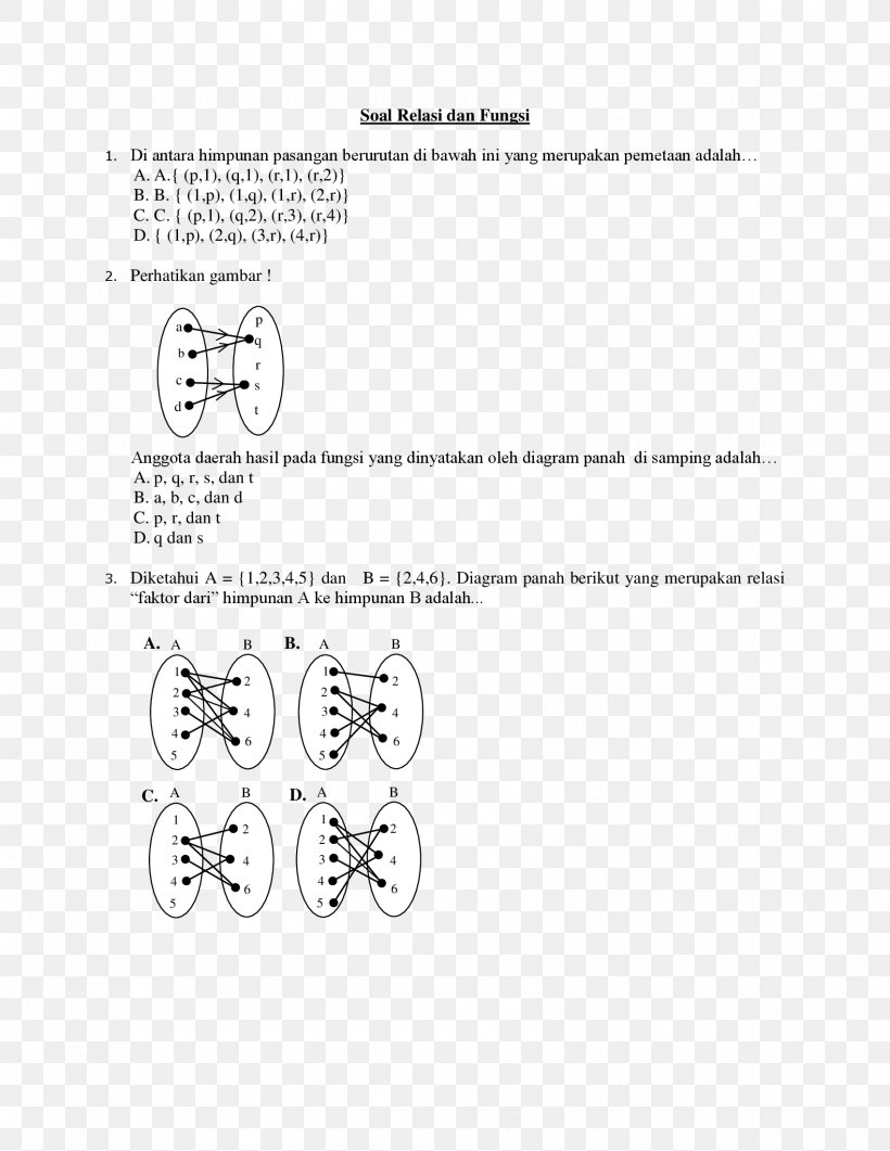 Diketahui A= 0 1 4 9 Dan B= 0 1 2 3 4 : diketahui, Function, Binary, Relation, Diagram, Number,, 1700x2200px,, Function,, Area,, Relation,, Black, White,, Brand