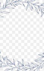 Black And White Flower Border Images Black And White Flower Border Transparent PNG Free download