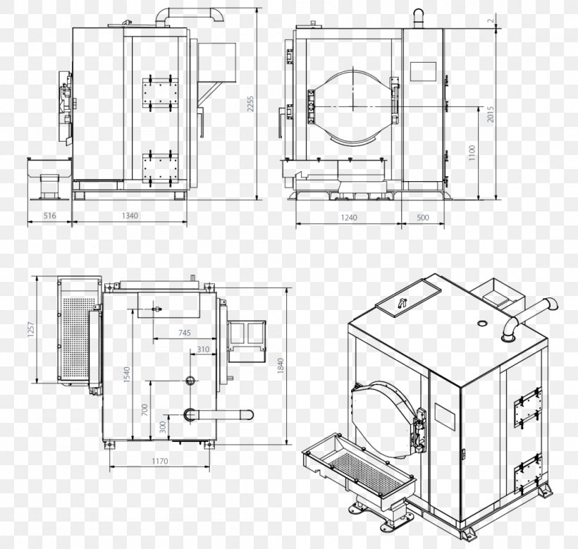 Technical Drawing Furniture Engineering Diagram, PNG