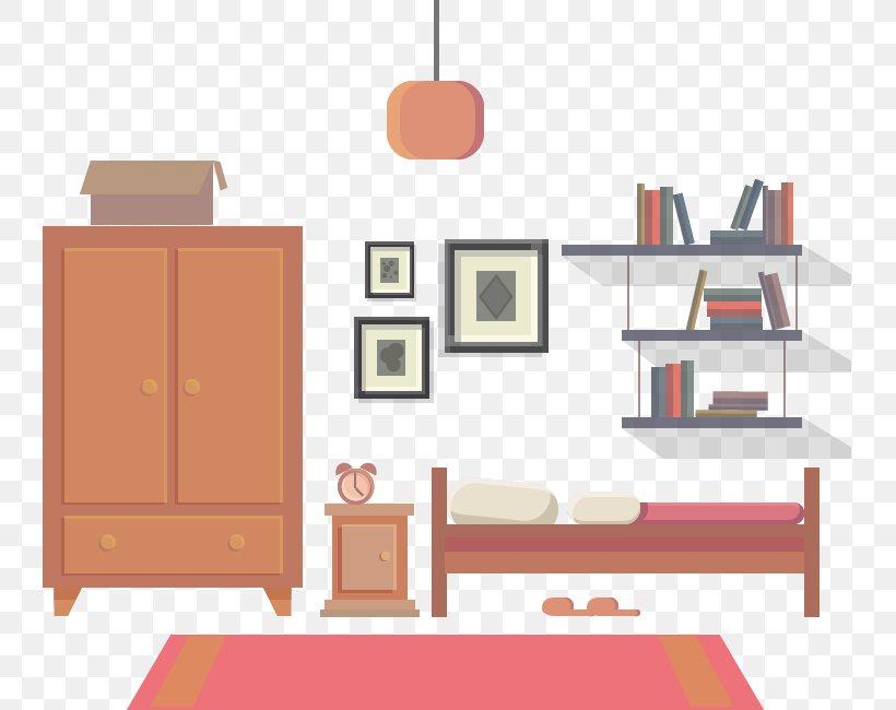 Bedroom Euclidean Vector Png 741x650px Bedroom Bed Bookcase Drawing Floor Download Free