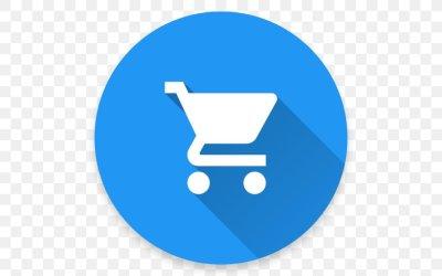 Shopping Cart E commerce Online Shopping Logo PNG 512x512px Shopping Cart Area Bitcoin Blue Brand Download