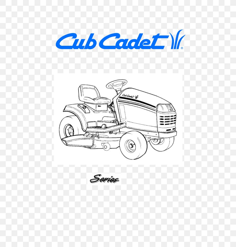 Cub Cadet Lawn Mowers MTD Products Tractor Owner's Manual