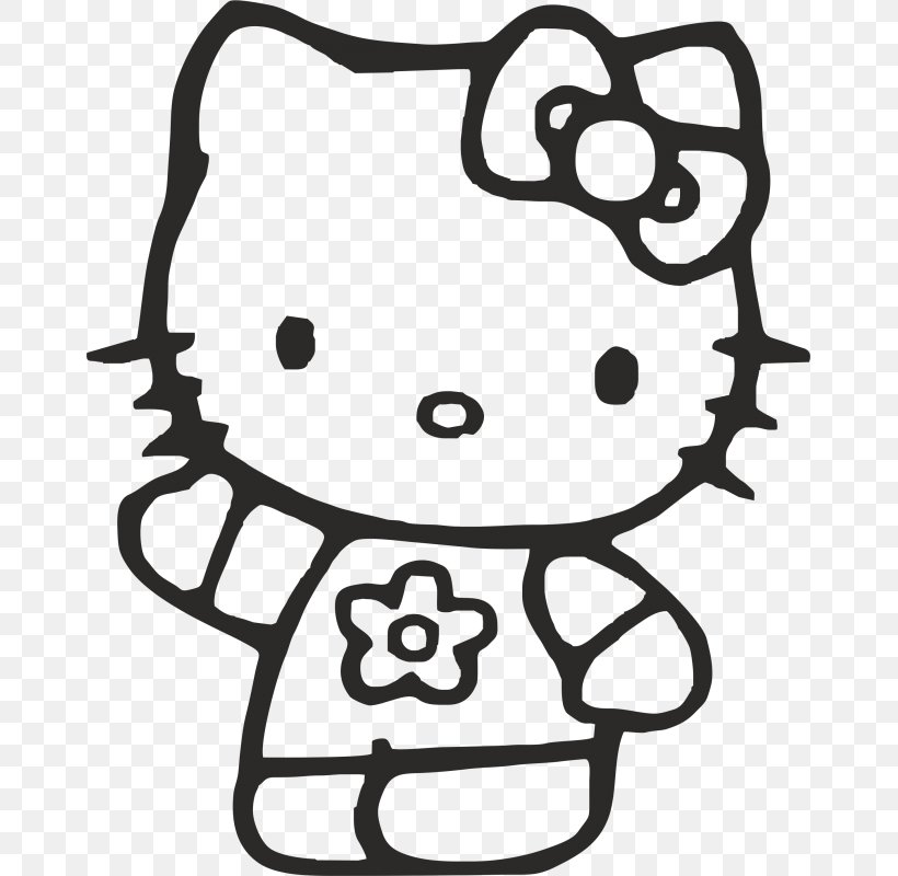 Hello Kitty Coloring Book Colouring Pages Christmas
