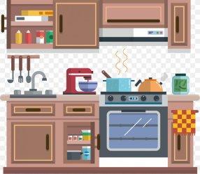Kitchen Cabinet Kitchenware Cartoon PNG 964x842px Kitchen Cartoon Cooking Decorative Arts Drawing Download Free