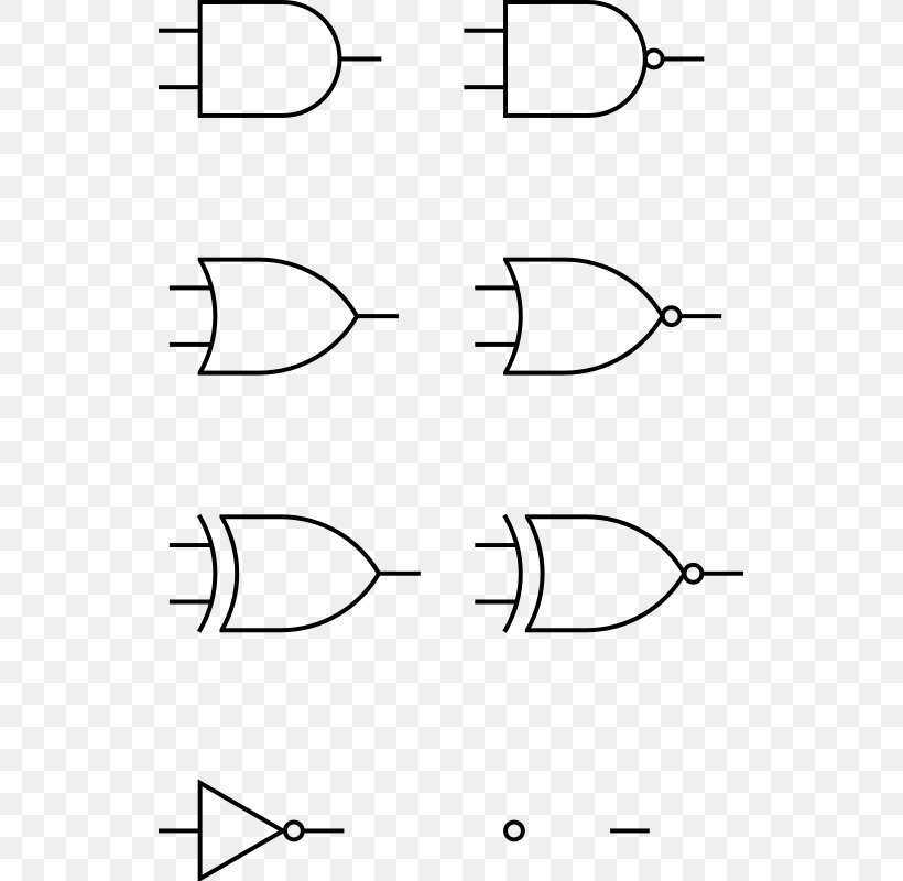 Logic Gate AND Gate Electronic Circuit Clip Art, PNG