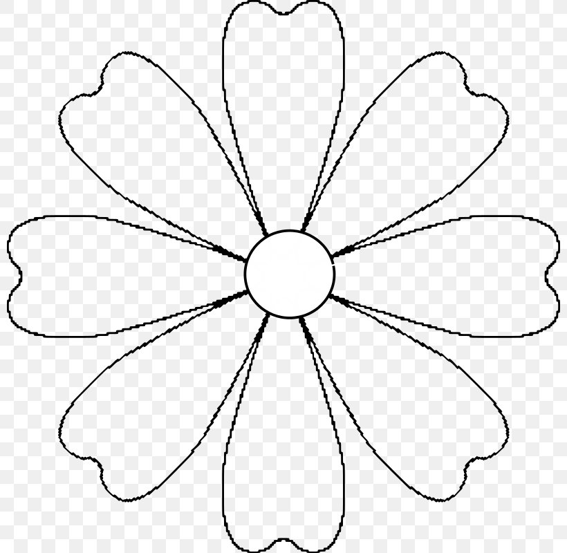 Flower Template Paper Pattern, PNG, 800x800px, Flower
