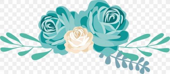Flower Blue Clip Art PNG 1678x735px Flower Aqua Blue Blue Rose Bluegreen Download Free