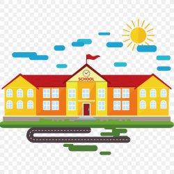 School Cartoon Classroom PNG 1500x1500px School Architecture Area Building Cartoon Download Free