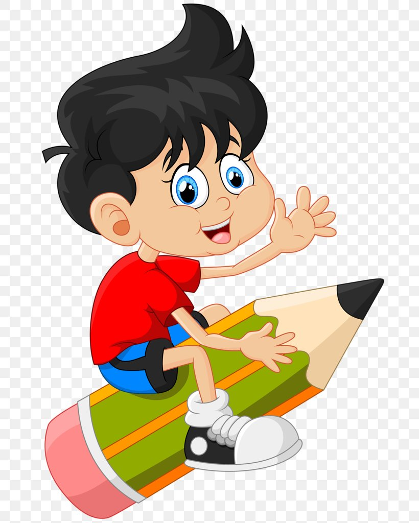 Kid Drawing Clipart : drawing, clipart, Drawing, Cartoon, Child, 737x1024px,, Drawing,, Cartoon,, Download