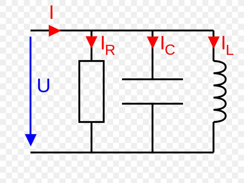 Electrical Network Electric Current RLC Circuit Series And