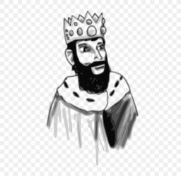 King Black And White Throne Clip Art PNG 500x800px King Art Black Black And White Cartoon