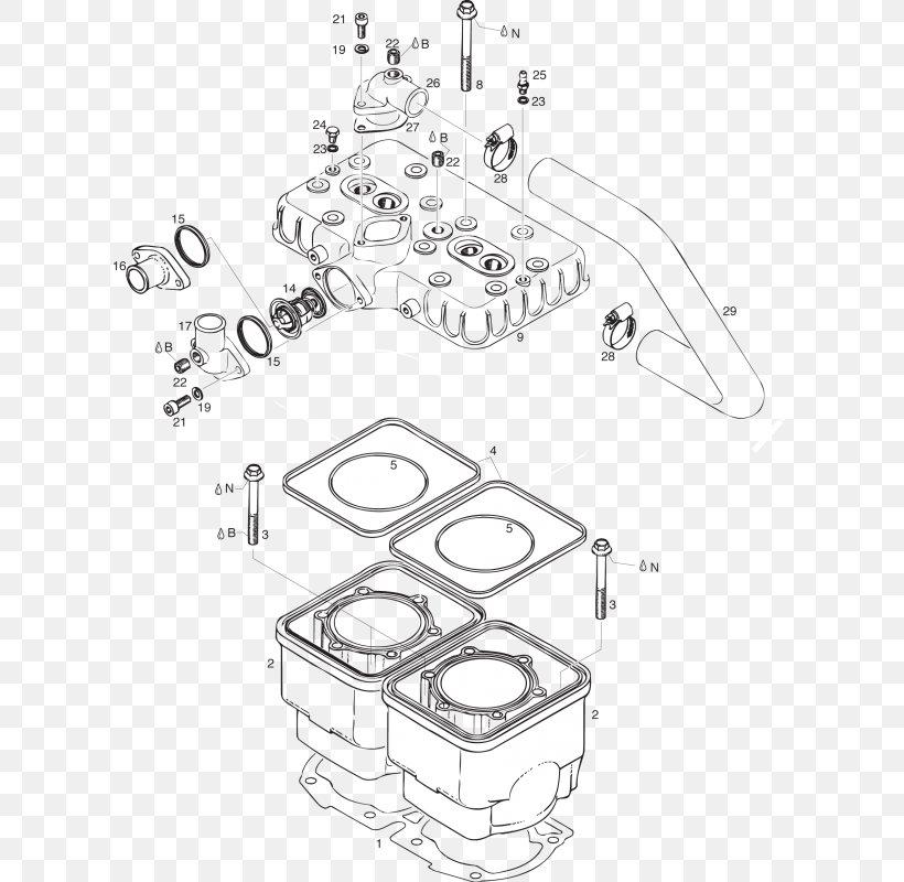 Car BRP-Rotax GmbH & Co. KG Flathead Engine Rotax 582