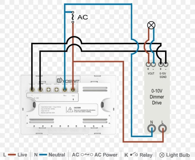 010 v lighting control dimmer wiring diagram lighting