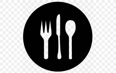Restaurant Food Dinner PNG 512x512px Restaurant Black And White Cutlery Dinner Drink Download Free