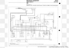 Fiat Panda Wiring Diagram Fiat Punto, PNG, 960x679px, Fiat