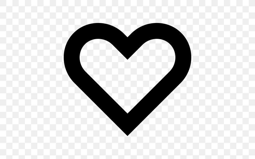 Heart Icon Design Symbol, PNG, 512x512px, Heart, Black And