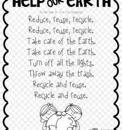Let's Get Ready For Earth Day Poetry Worksheet [ 1088 x 820 Pixel ]