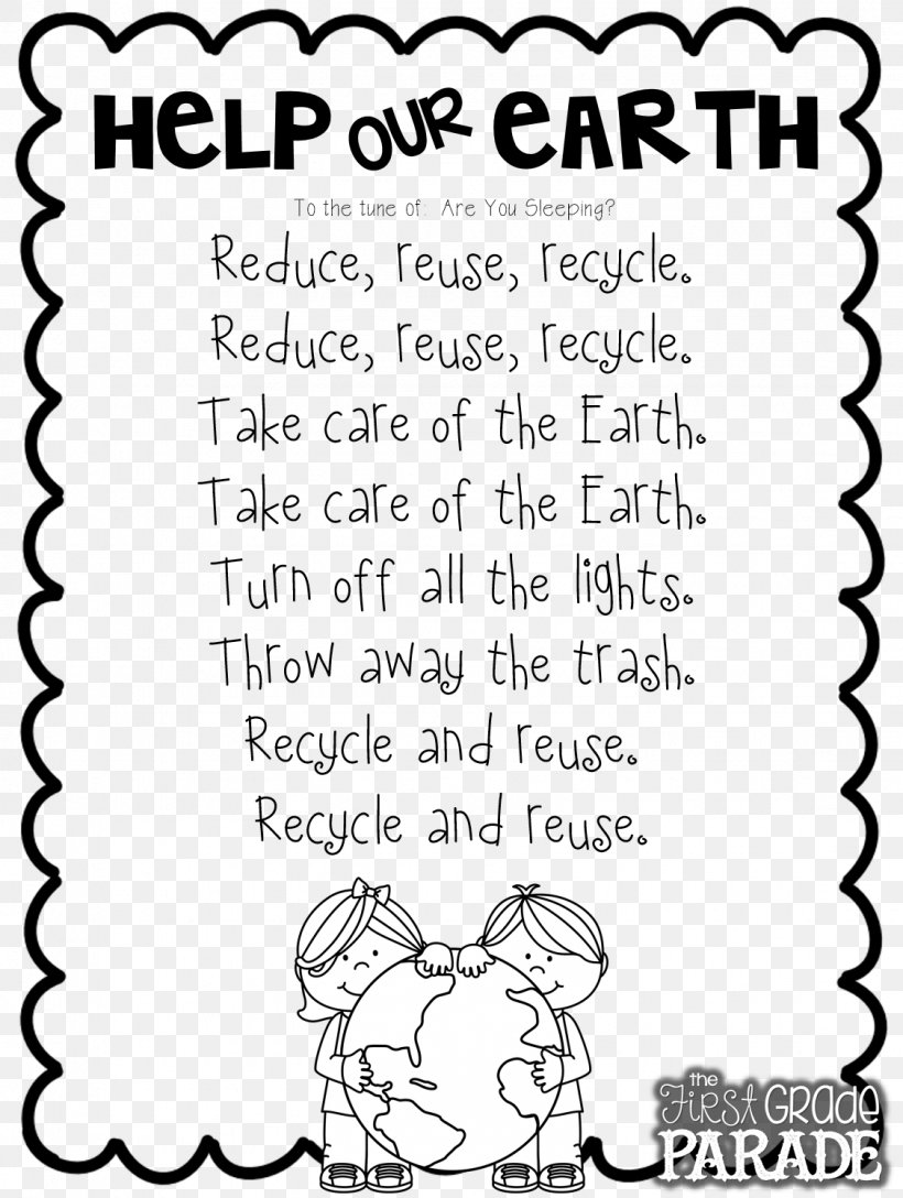 medium resolution of Let's Get Ready For Earth Day Poetry Worksheet