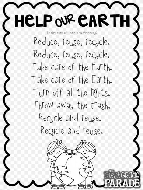 small resolution of Let's Get Ready For Earth Day Poetry Worksheet