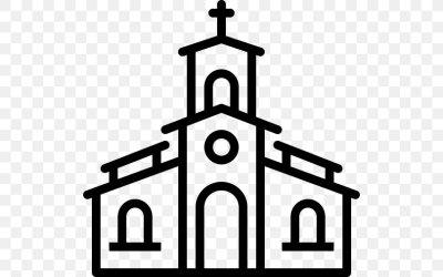 Christian Church Christianity Religion Clip Art PNG 512x512px Church Black And White Brand Chapel Christian Church