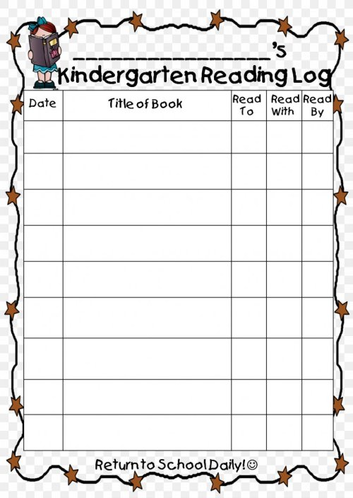 small resolution of First Grade Reading Homework Template Writing