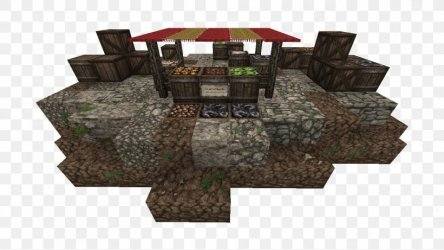 Minecraft Middle Ages Market Stall Marketplace Market Square PNG 1366x768px Minecraft Building Computer Software Market Market