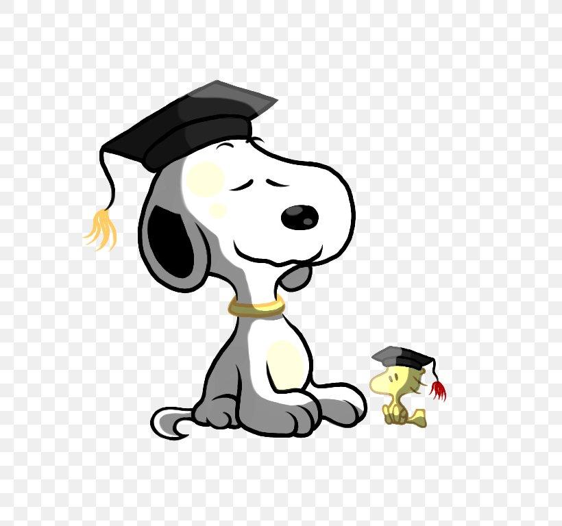 Snoopy Woodstock Graduation Ceremony Peanuts Clip Art, PNG
