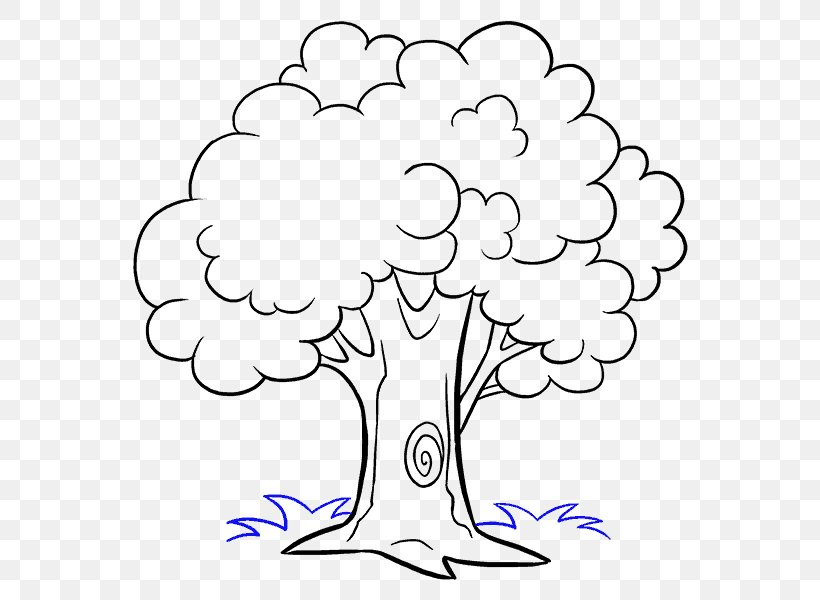 How To Draw Trees Drawing Cartoon Sketch Png 678x600px How To Draw Trees Area Art Artwork