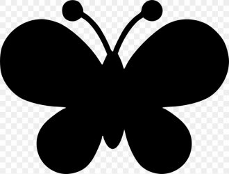 Shape Silhouette Butterfly Clip Art PNG 1328x1006px Shape Black And White Brush Footed Butterfly Butterfly Easter