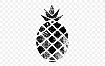 Stencil Pineapple Tart Cuisine Of Hawaii PNG 512x512px Stencil Art Cuisine Of Hawaii Drawing Food Download