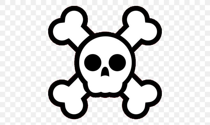 Skull And Crossbones Cartoon Clip Art Png 700x490px Skull And Crossbones Black And White Bone Cartoon