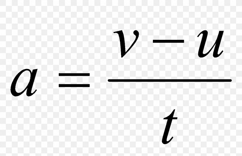 Acceleration Formula Equation Science Velocity, PNG