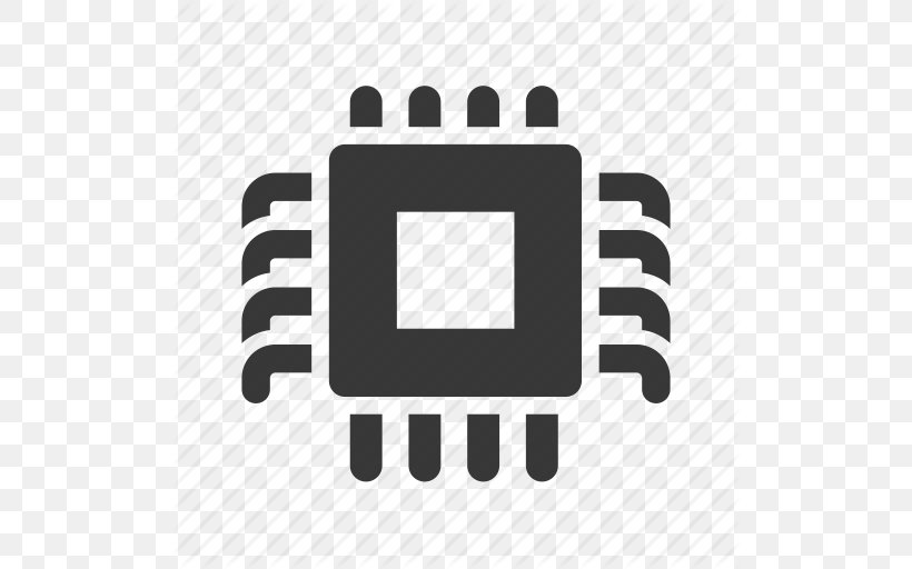 Integrated Circuit Central Processing Unit Icon, PNG