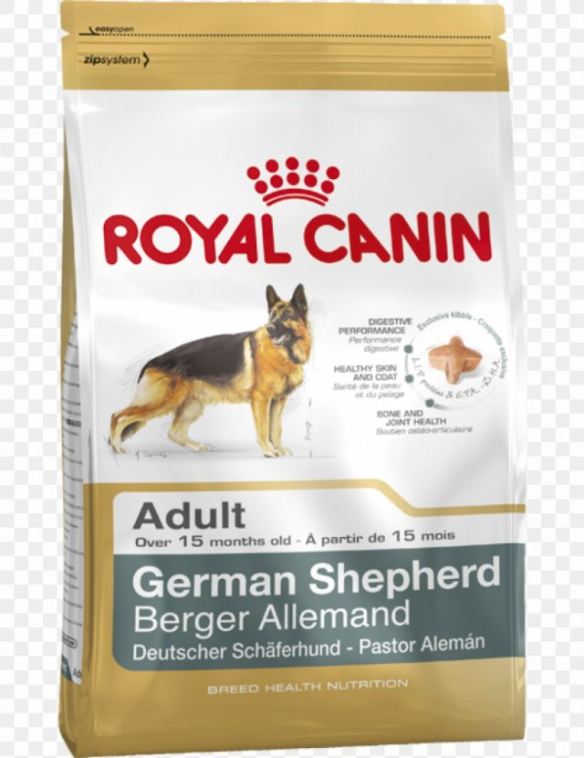 german shepherd puppy cat food royal canin, png, 833x1080px