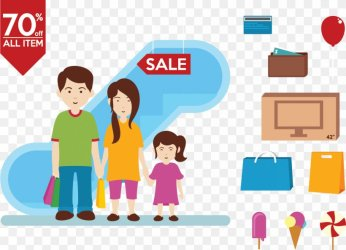 Family Shopping Centre Illustration PNG 1276x922px Family Area Brand Cartoon Child Download Free