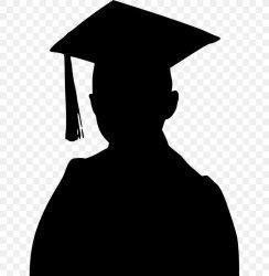 Graduation Ceremony Graduate University Student Clip Art PNG 640x838px Graduation Ceremony Black Black And White College