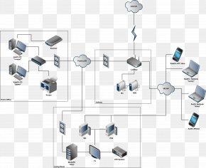 Computer Network Diagram Wide Area Network Cloud Computing