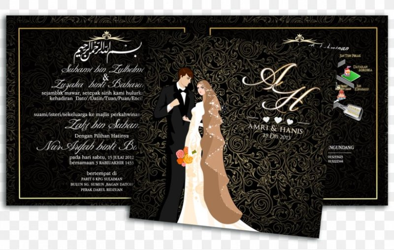 Bride Post Cards Kad Kahwin Lovely