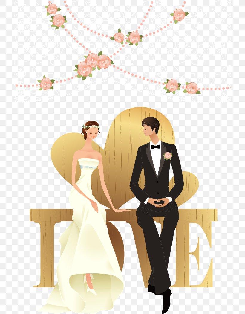 Happy Wedding Png : happy, wedding, Wedding, Marriage, Wallpaper,, 726x1050px,, Watercolor,, Cartoon,, Flower,, Frame,, Heart, Download